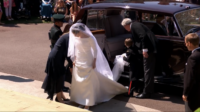 The First Look of Meghan Markle's Stunning Wedding Dress