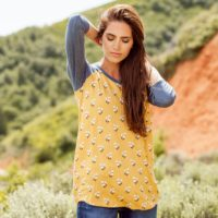 Downeast Autumn Baseball Tee