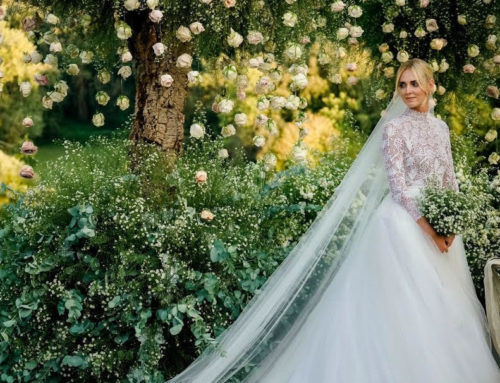 Modest Celebrity Wedding Dresses to Inspire