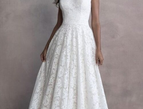 Where to Find a Last Minute Modest Wedding Dress